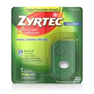 Zyrtec Allergy Tablets 10mg (with Photos, Prices & Reviews)