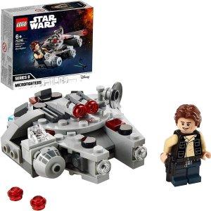 折后仅€7.73 小小一个超级萌LEGO 75295 千年隼微型战机热卖 银河系最速传说