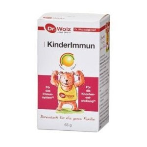 只要13.99德货之光:增强儿童免疫力 Kinderimmun Dr. Wolz 德国Dr.Wolz伍兹博士  牛初乳粉 65g