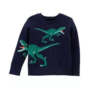 OshkoshDinosaur Sweater