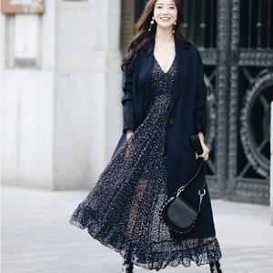 欧阳娜娜同款外套€112.5Maje官网4折起+折上9折 封面同款大衣€283.5