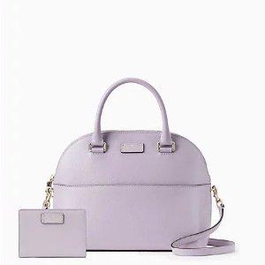 Kate Spadegrove street carli and tellie bundle in lavender mist