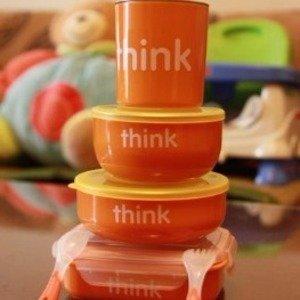 $28.88Thinkbaby Complete BPA Free Feeding Set Orange