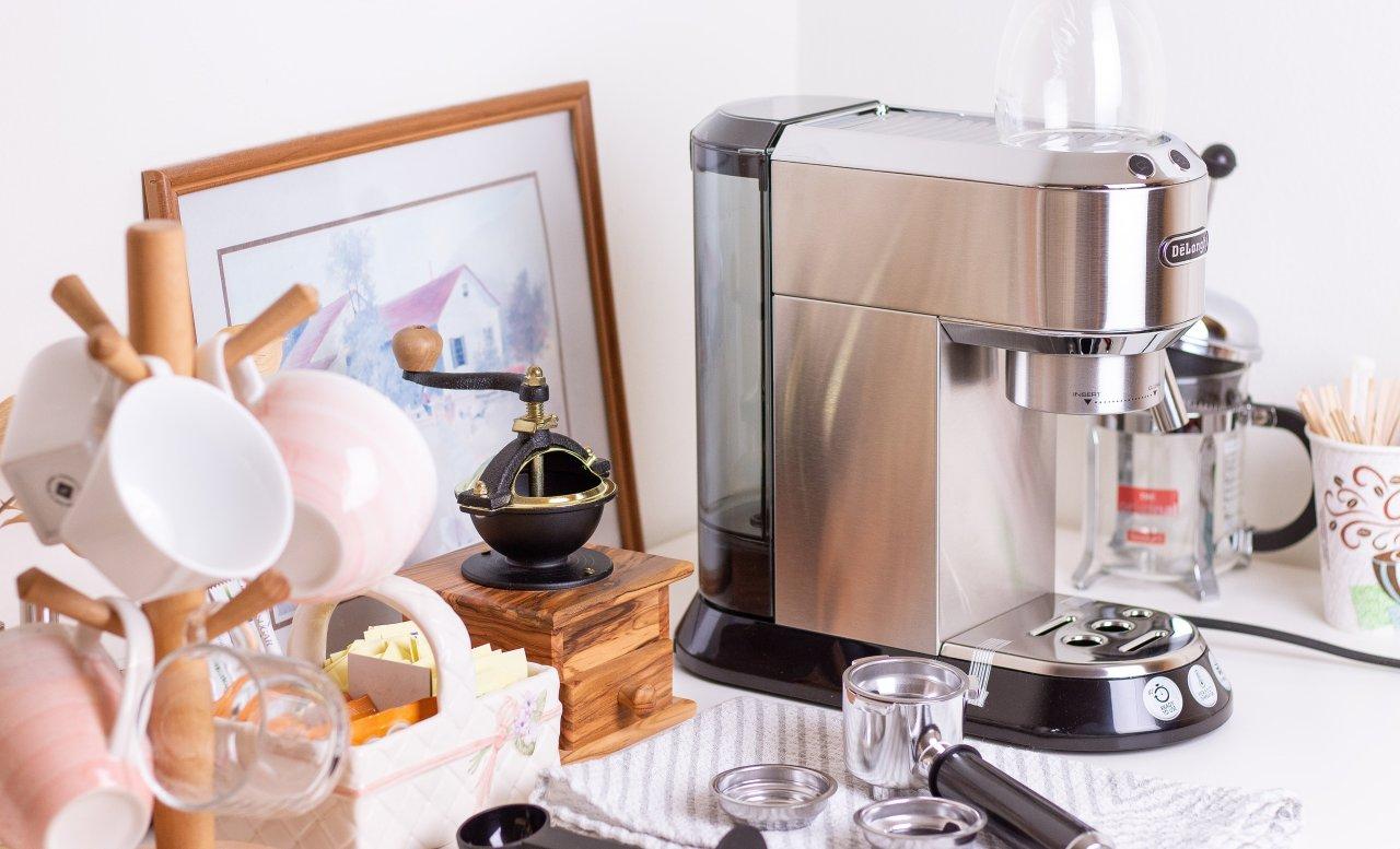 咖啡小馆今日开张 | 德龙EC680意式浓缩咖啡机全测评(附咖啡饮品方案)