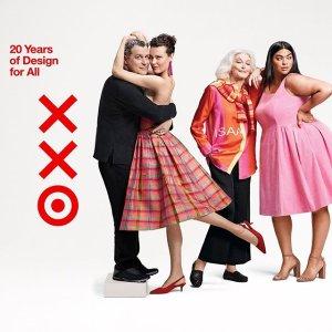 白菜价撸超多大牌设计款新品上市:Target 设计师合作20周年庆