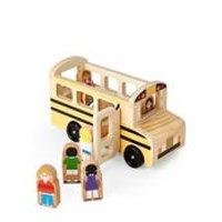 Melissa & Doug School Bus Set 木质小车
