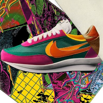 Releasing TomorrowComing Soon: Sacai x Nike LDWaffles