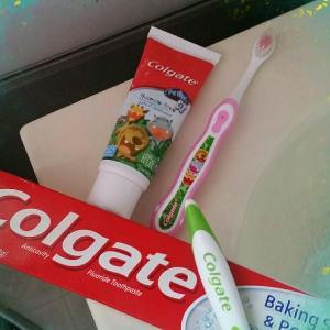 $2.63(原价$4.99)Colgate高露洁儿童无氟牙膏