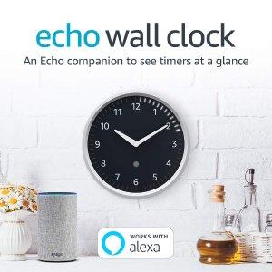 Echo Wall Clock 智能挂钟