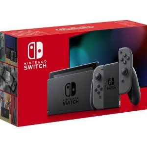 售价€299.99Nintendo Switch 游戏主机 灰色版 补货又降价