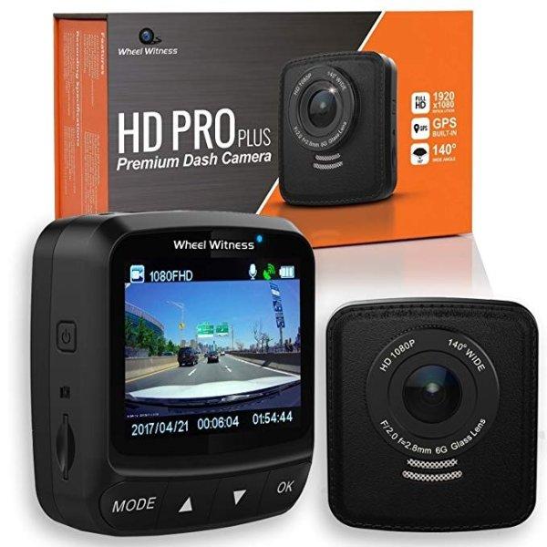HD PRO Plus 2K 140°广角 GPS HDR 夜视 行车记录仪