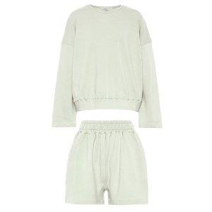 The Frankie Shop卫衣、短裤套装