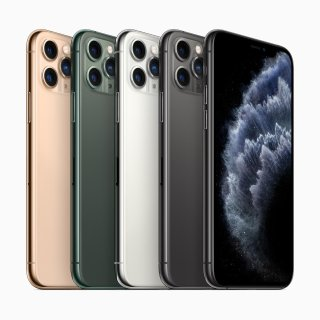 $999起 机器学习 神经网络 万亿次运算新iPhone 11 Pro/11 Pro Max  浴霸三摄 超级视网膜屏旗舰手机