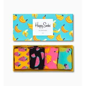 Happy Socks水果系列袜子4双套装