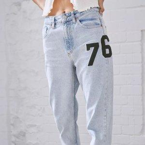 2.5折起 £21收牛仔裤 牛仔外套£13上新:Urban Outfitters 爆款BDG牛仔裤折扣专场 有型显瘦