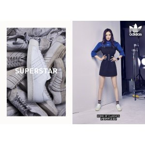 Adidas杨幂同款Superstar 运动鞋