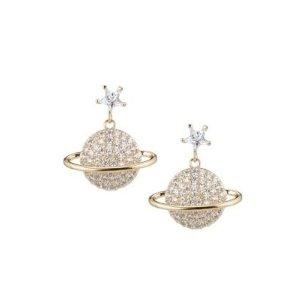 Eye Candy LALuxe Crystal Drop Earrings