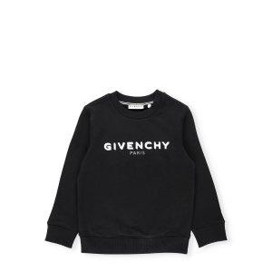 GivenchyLogo Print Crewneck Sweatshirt