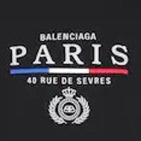 Balenciaga logo T恤