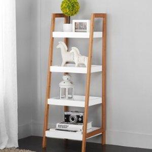 $39 (原价$45.88)Mainstays 简约风白色4层书架