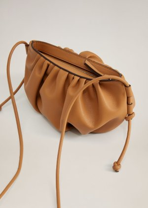 Pleated volume bag -  Women | Mango USA