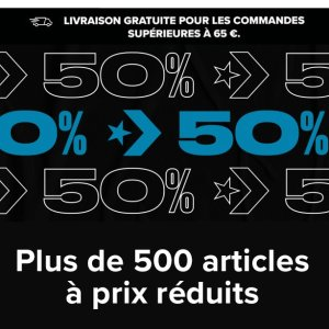 低至5折 超多新款加入法国打折季2021:Converse官网 大促来袭 收帆布鞋、面包服等