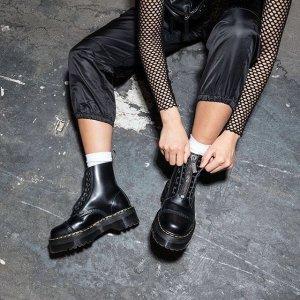 时髦必备 Dr. Martens卷土重来Nordstrom 短靴专场 今秋时髦精最爱的单品