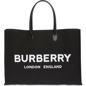 BurberryLewes 新款帆布托特包