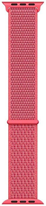 Apple Watch 尼龙运动表带 (44mm) - 木槿红