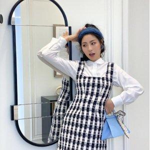 低至5折 封面同款€175Maje官网春季大促 优雅可爱的法式小裙子 不负这春光