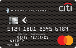 0% Intro APR for 18 monthsCiti® Diamond Preferred® Card