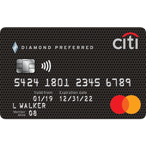0% Intro APR on Balance Transfers For 21 MonthsCiti® Diamond Preferred® Card