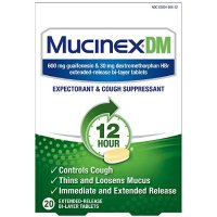 Mucinex 咳嗽药 20片