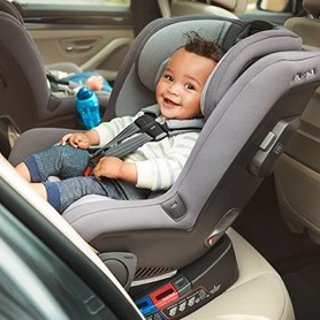 $349.95 (原价$449.95) 包邮Nuna RAVA 双向儿童安全座椅黑色款 很多地方都售罄 手慢无