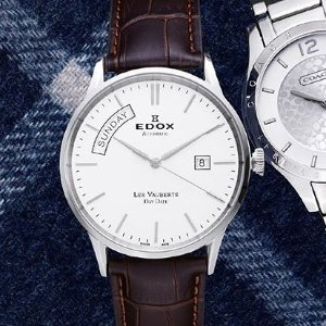 $299.99Edox Men's Les Vauberts Automatic Watch
