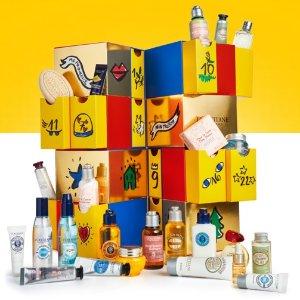 $63.2(价值$130)L'Occitane 年末礼盒促销 超多明星产品
