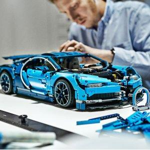 Lego布加迪 Bugatti Chiron 超跑 - 42083 | 机械组系列