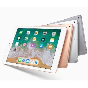 32GB $269.99 128GB $349.99 2018 Apple iPad 9.7 WiFi