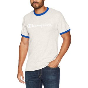 $9.95Champion Men's Classic Jersey Graphic Ringer T-Shirt