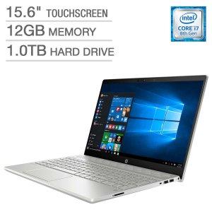 HP Pavilion 15 Touchscreen (i7-8550U, 12GB, 1TB)