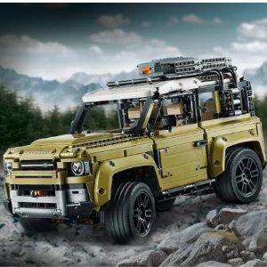 £159.99 炫酷登场 开始订购啦LEGO 官网路虎卫士42110 比真车率先一步