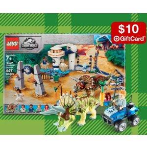 满$50返$10礼卡乐高LEGO 套装热卖,节日礼物买起来