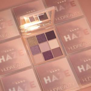 一律8折 £21收Haze眼影盘Huda Beauty 眼影盘热促 新品9色盘、水逆、沙漠玫瑰