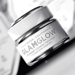 送价值$59的正装发光太极霜Glamglow白罐清洁面膜热卖 黑头白头通通去无踪