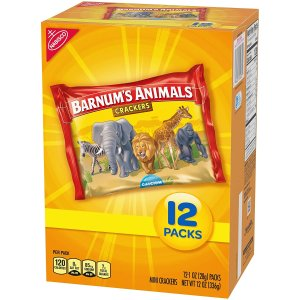 Barnum's Original Animal Crackers 12 Packs