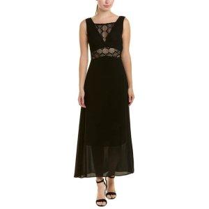 MajeLace-Trim Maxi Dress