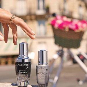 7折起+赠彩妆5件套最后一天:Lancome 兰蔻精选彩妆、护肤热卖 抢收小黑瓶套装