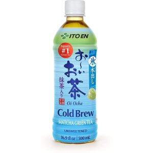 无糖冷萃绿茶 16.9 Ounce 12瓶