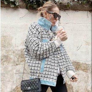 4折起+送耳环!£28收格纹上衣折扣升级:Jovonna 春季大促开始 优雅法式美衣再降价