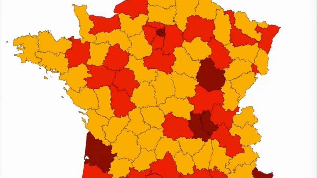 法国新冠肺炎实时动态:9月20日新增确诊10569例,新增死亡12例!